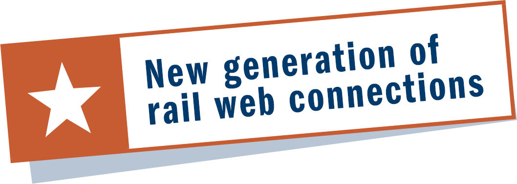 New generation of rail web connections